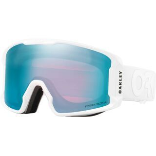 Oakley Line Miner XM Factory Pilot Whiteout, Lens: prizm sapphire iridium - Skibrille