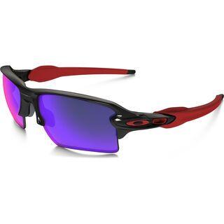 Oakley Flak 2.0 XL, polished black/Lens: positive red iridium - Sportbrille
