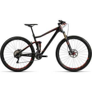 Cube Stereo 120 HPC SL 27.5 2016, carbon´n´flashred - Mountainbike
