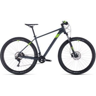 Cube Attention 27.5 2020, grey´n´green - Mountainbike