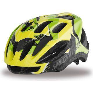 Specialized Flash, Hyper Green Hurricane - Fahrradhelm