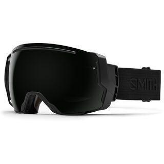 Smith I/O 7 inkl. Wechselscheibe, black/black/Lens: blackout - Skibrille