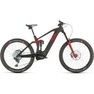 Cube Stereo Hybrid 160 HPC SLT 27.5 2020, carbon´n´red - E-Bike