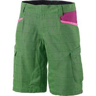 Scott Womens Trail 30 ls/fit Shorts, classic green/berry purple - Radhose