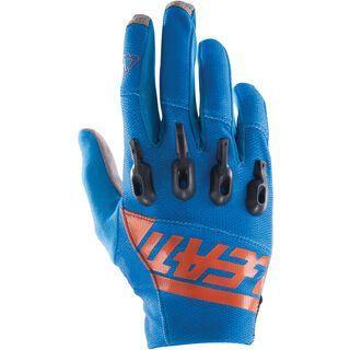Leatt Glove DBX 3.0 Lite, blue/orange - Fahrradhandschuhe