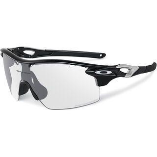 Oakley Radarlock XL Straight Stem, polished black/clear black iridium photocromic vented - Sportbrille