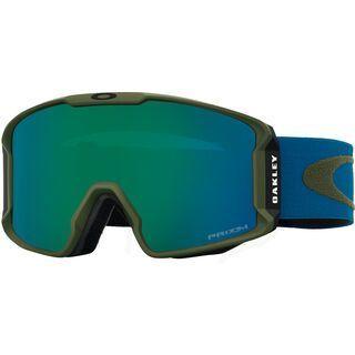 Oakley Line Miner, army green blue shade/Lens: prizm jade iridium - Skibrille