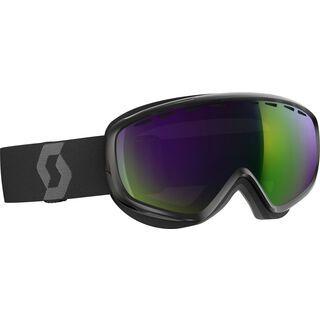 Scott Dana, black/Lens: amplifier green chrome - Skibrille