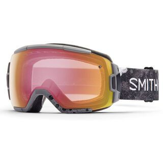 Smith Vice, cement bleached/red sonsor mirror - Skibrille