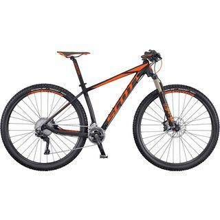 *** 2. Wahl *** Scott Scale 940 2016, black/orange - Mountainbike   Größe M // 44 cm