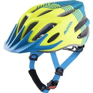 Alpina FB Jr. 2.0 L.E., neon-blue matt - Fahrradhelm