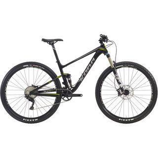 Kona Hei Hei DL Trail 2016, black/silver+lime - Mountainbike