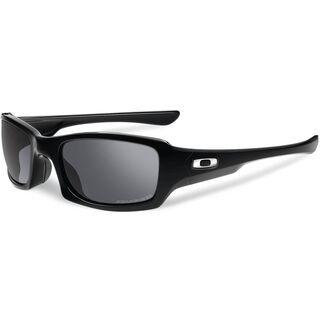 Oakley Fives Squared, Polished Black/Black Iridium Polarized - Sonnenbrille