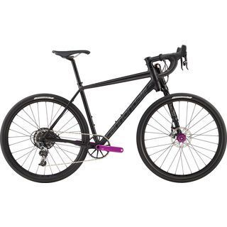 Cannondale Slate Force CX1 2017, black anodized/purple - Rennrad