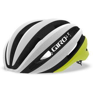 Giro Synthe MIPS, matte citron/white - Fahrradhelm
