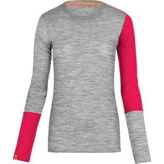Ortovox Merino 185 Rock 'N' Wool Long Sleeve, grey blend - Unterhemd