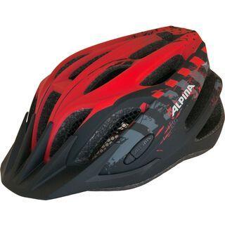 Alpina Tour 2.0, black-red - Fahrradhelm