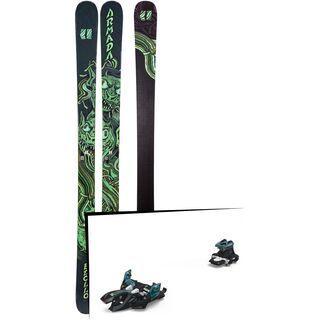 Set: Armada Edollo 2019 + Marker Alpinist 9 black/turquoise