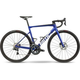BMC Teammachine SLR01 Four 2021, blue & carbon - Rennrad