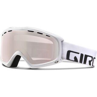 Giro Cirque, white wordmark/Lens: rose silver - Skibrille