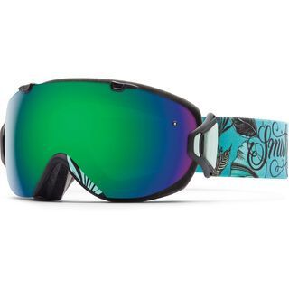 Smith I/Os + Spare Lens, mrs eaves/green sol-x mirror - Skibrille