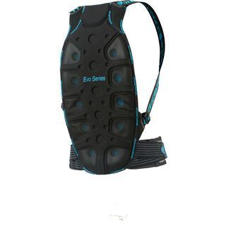 Icetools Evo Belt, black blue - Rückenprotektor