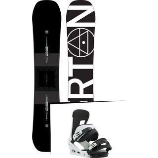 Set: Burton Custom X 2019 +  Freestyle (1930963S)