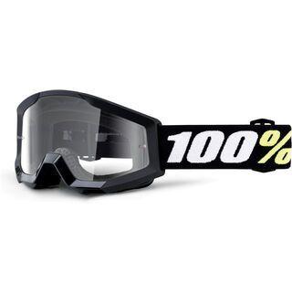 100% Strata Mini, black/Lens: clear - MX Brille