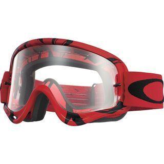 Oakley O Frame MX, intimidator red/black/clear - MX Brille