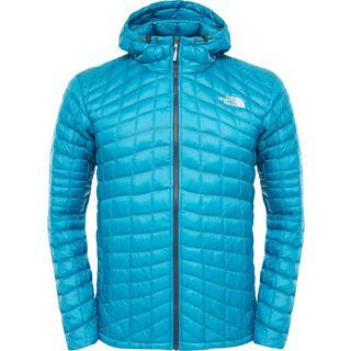 The North Face Mens ThermoBall Hoodie, enamel blue - Thermojacke