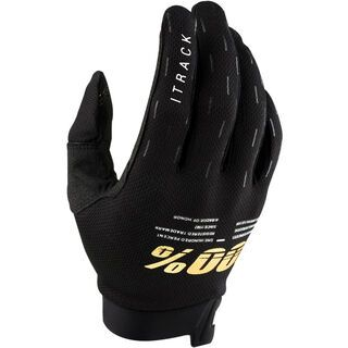 100% iTrack Glove, black - Fahrradhandschuhe
