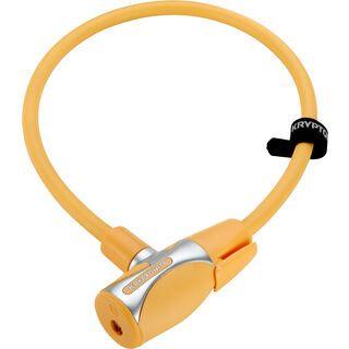 Kryptonite KryptoFlex 1265 Key Cable, light orange - Fahrradschloss