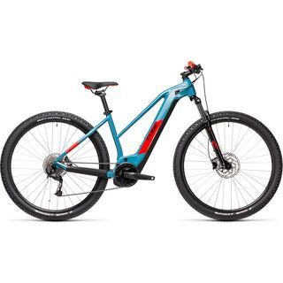 Cube Reaction Hybrid Performance 625 29 Trapeze 2021, blue´n´red - E-Bike