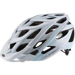 Alpina D-Alto, white blue silver - Fahrradhelm
