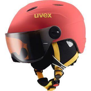 uvex junior visor pro, chilired mat - Skihelm