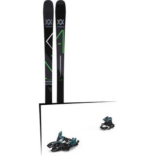 Set: Völkl Kanjo 2018 + Marker Alpinist 9 black/turquoise