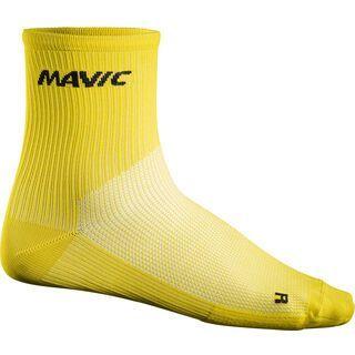 Mavic Cosmic Mid Sock, yellow - Radsocken