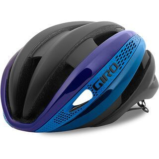 Giro Synthe MIPS, mat black/blue/purple - Fahrradhelm