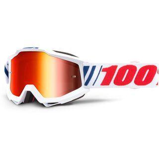 100% Accuri - Mirror Red af066