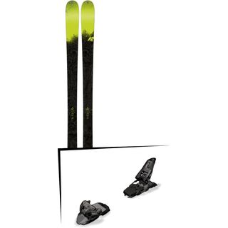 Set: K2 SKI Sight 2018 + Marker Squire 11 black anthracite