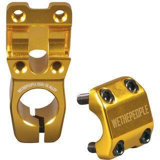 WeThePeople Seize Topload, gold - Vorbau