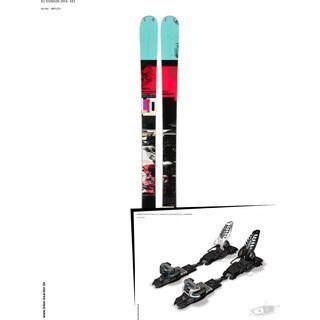 K2 SKI Set: Domain 2014 + Marker Griffon Schizo 13