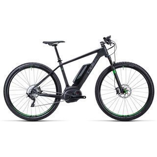 Cube Elite Hybrid HPC SL 29 2015, black/green - E-Bike
