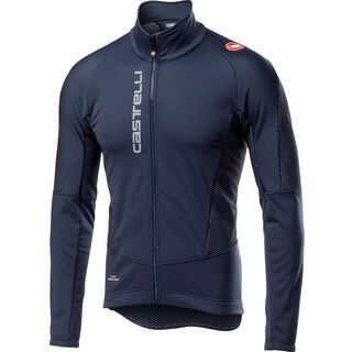 Castelli Mortirolo V Jacket, dark/steel blue - Radjacke