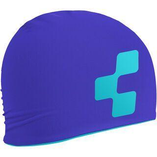 Cube Beanie Basic, purple´n´blue - Mütze