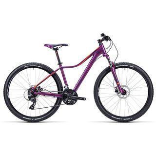 Cube Access WLS Disc 27.5 2015, purple/flashred - Mountainbike
