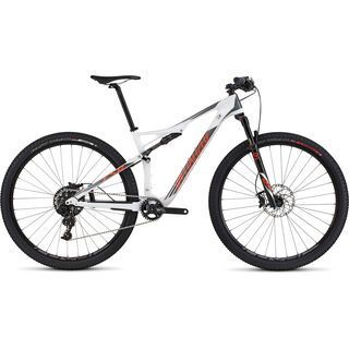 Specialized Epic FSR Elite Carbon 29 World Cup 2016, white/charcoal/orange - Mountainbike