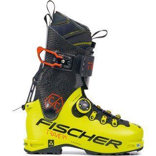 Fischer Travers CC 2020, yellow/carbon - Skiboots