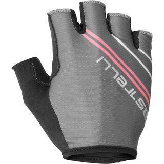 Castelli Dolcissima 2 W Glove dark gray/giro pink