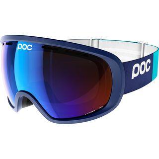 POC Fovea, blue/Lens: persimmon blue mirror - Skibrille
